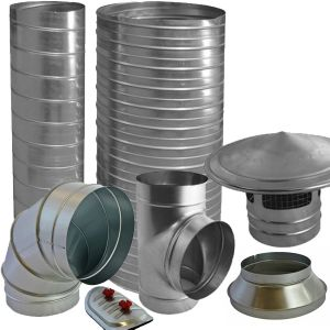 SPIRAL DUCTWORK FITTINGS